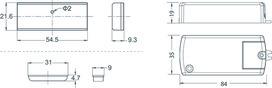 Magnet-Türkontaktschalter L&S Emotion 12 V