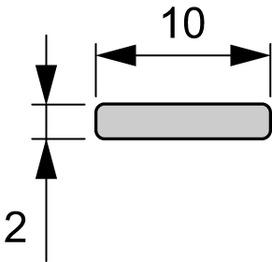 LED Grundprofile Kühlleiste L&S