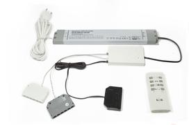 Transformatoren L&S RGB Moonlight mit Fernbedienung, inkl. EVG 12 V 60 W, 16 mm