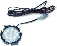 Lampes LED encastrables MLD 58 E-motion 12 V (sans anneaux de recouvrement)