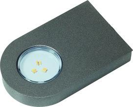 LED Ein-/Anbauleuchten L&S Emotion Glaspoint 12 V