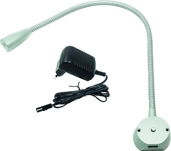 Lampes de lectures LED pour lit L&S BU 1 12 V