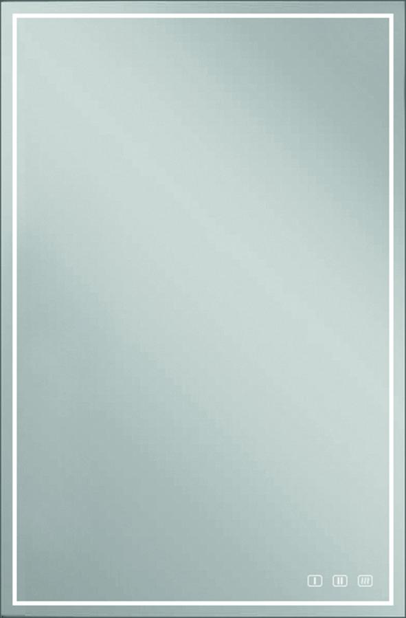 Miroir en cristal LED L&S Emotion Deluxe 12 V