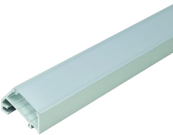 LED Anbauprofile L&S Porto 3 ohne Lichtblende
