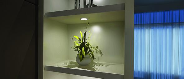Jeu lampes encastrables/applique LED L&S Chip 68 12 V