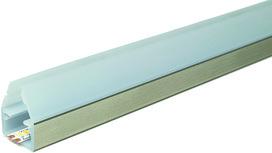 LED Anbau-Glaskantenprofile L&S Fly mit Abdeckprofil
