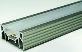 LED Einbauprofile L&S Manila Plus ohne Abdeckprofil