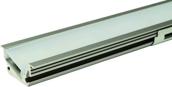 LED Einbauprofile L&S Venice Mini ohne Lichtblende