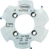 Lamello 132143 P-System fraise à rainure, DP (diamant) pour CNC, 100.4x7x40mm, Z3, NLA 4/6,6/52mm