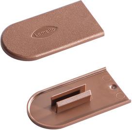 Lamello 186351R Capuchons de protection Cabineo, brun fauveRAL 8007, 2'000 pièces