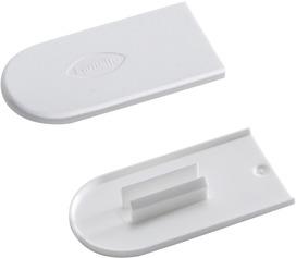 Lamello 186351W Capuchons de protection Cabineo, blanc pur RAL 9010, 2'000 pièces