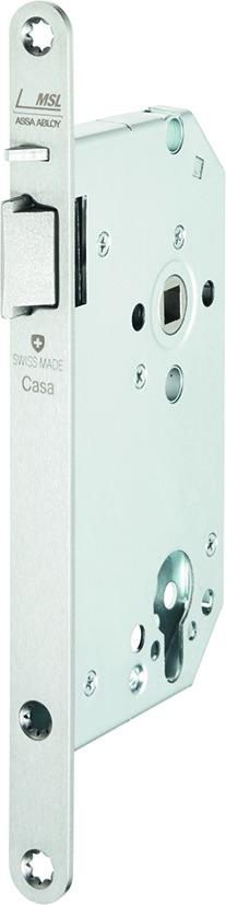 Serrures à mortaiser MSL CASA-Alpha 1254PBe-FS